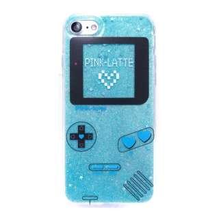 iPhone8/7PINK-latte [ゲーム/ブルー] md-74232BLU