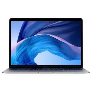 MacBook Air 13インチRetinaディスプレイ カスタマイズモデル[2018年 /SSD 128GB /メモリ 16GB /1.6GHzデュアルコアIntel Core i5] スペースグレイ Z0VD-MRE82J/A-メモリ16GB