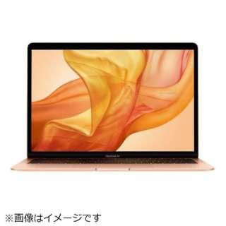 MacBook Air 13インチRetinaディスプレイ USキーボード カスタマイズモデル[2018年 /SSD 128GB /メモリ 16GB /1.6GHzデュアルコアIntel Core i5] ゴールド MREE2J/A-メモリ16GB-US