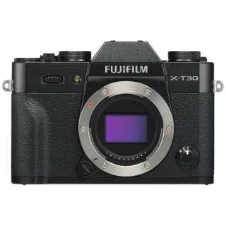 富士フィルム X-T30 ブラック [ミラーレス一眼カメラ(2610万画素)] デジタル一眼カメラ