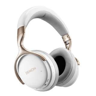 ブルートゥースヘッドホン AHGC30WTEM ホワイト [マイク対応 /Bluetooth /ハイレゾ対応 /ノイズキャンセリング対応]