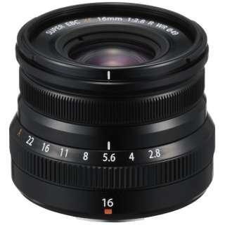 カメラレンズ XF16mmF2.8 R WR FUJINON(フジノン) ブラック [FUJIFILM X /単焦点レンズ]