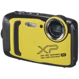 XP140 コンパクトデジタルカメラ FinePix(ファインピックス) イエロー [防水+防塵+耐衝撃]