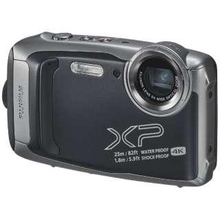 XP140 コンパクトデジタルカメラ FinePix(ファインピックス) ダークシルバー [防水+防塵+耐衝撃]