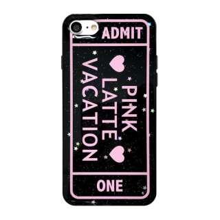 iPhone8/7[ADMIT ONE] / ラメシリコンケース md-74231BLK ブラック