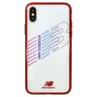 timeless design ee653 3b5bf ビックカメラ.com - New Balance [TPU+PC ケース/レッド] iPhoneXS/X md-74260-3