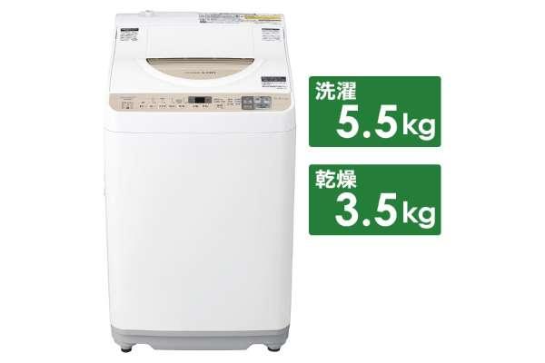 洗濯乾燥機のおすすめ シャープ ES-T5CBK