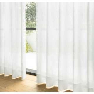 【花粉キャッチ加工】2枚組ミラーレースカーテン ポルテーロ(100×133cm/アイボリー)