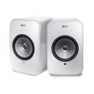 ハイレゾ対応 フルワイヤレス・スピーカー LSX グロスホワイト [ハイレゾ対応 /Bluetooth対応 /Wi-Fi対応]