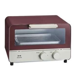BOE052-RD オーブントースター BRUNO(ブルーノ) レッド