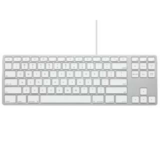 Matias Wired Aluminum Tenkeyless Keyboard for Mac シルバー 英語配列