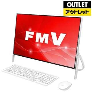 【アウトレット品】 23.8型デスクトップパソコン [Win10 Home・Core i7・HDD 1TB・メモリ 4GB・Office付] FMV ESPRIMO  FMVF70C2W ホワイト 【外装不良品】