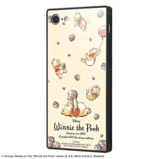 iPhone SE(第2世代)4.7インチ/ iPhone 8 / 7 /『ディズニーキャラクター』/耐衝撃ガラスケース KAKU IQ-DP7K1B/PO003 『くまのプーさん/Perfect Day』