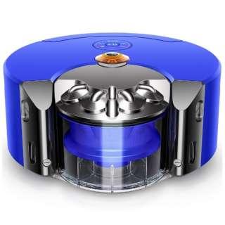 RB02 BN ロボット掃除機 Dyson 360 Heurist ニッケル/ブルー