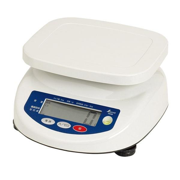 シンワ測定 デジタル上皿はかり3kg A764-70104