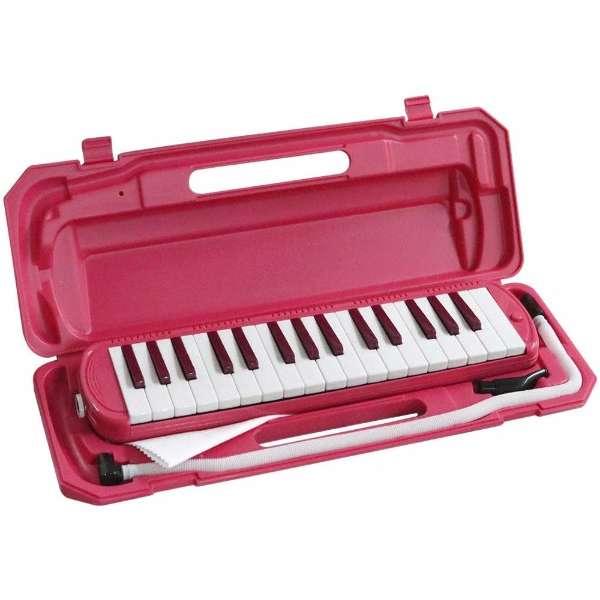 鍵盤ハーモニカ P3001-32K/VPK ビビッドピンク