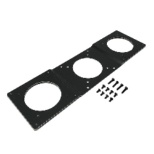 VESA規格増設プレート ダブル NB-VS7510PLUS-W ブラック