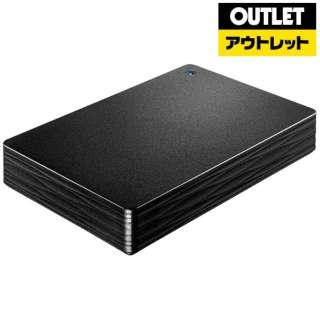 【アウトレット品】 HDPH-UT2DK 外付けHDD HDPH-UTシリーズ ブラック [ポータブル型 /2TB] 【外装不良品】