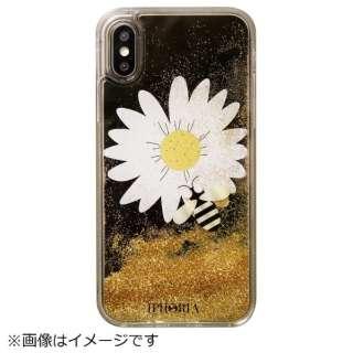 iPhone X/XS TPUケース Daisy Black