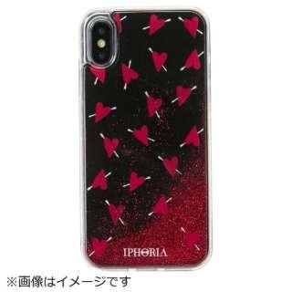 iPhone X/XS TPUケース Amore Black
