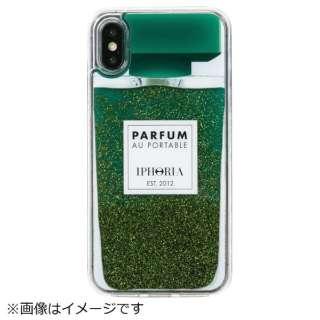 iPhone X/XS TPUケース Perfume Green