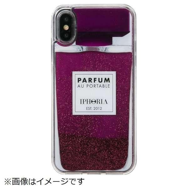iPhone X/XS TPUケース Perfume Purple