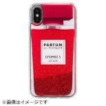 iPhone X/XS TPUケース Perfume Red