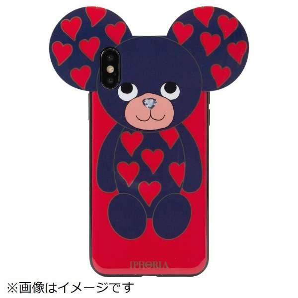 iPhone X/XS TPUケース Teddy Hearts