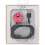 USBライトニングケーブル Rose Pink
