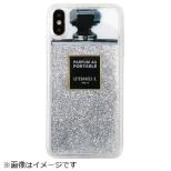 iPhone XS Max TPUケース Silver Glitter