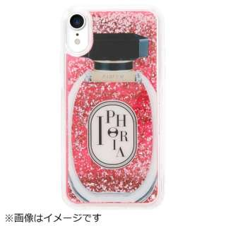 iPhone XR TPUケース Perfume Round Rose