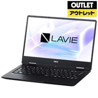 【アウトレット品】 12.5型ノートPC[Win10 Home・Celeron・SSD 128GB・メモリ 4GB・Office付] LAVIE Note Mobile PC-NM150KAB パールブラック 【外装不良品】
