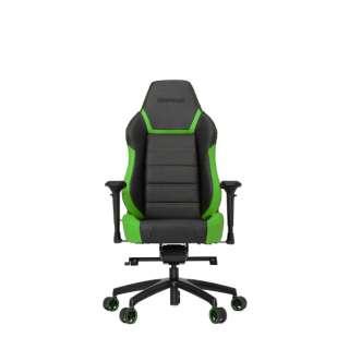 VG-PL6000_GR ゲーミングチェア Racing Series PL6000 Gaming Chair ブラック&グリーン