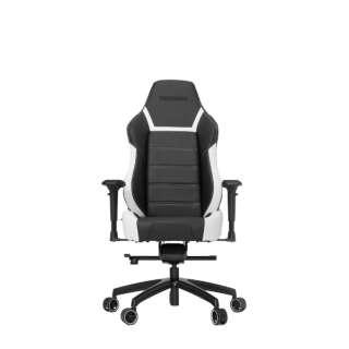 VG-PL6000_WT ゲーミングチェア Racing Series PL6000 Gaming Chair ブラック&ホワイト