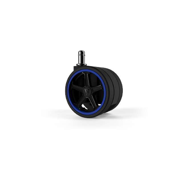 Vertagear Racing Series Opt Penta RS1 Casters 75mm (5pack) Blue
