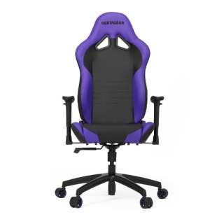 VG-SL2000_BP ゲーミングチェア Racing Series SL2000 Gaming Chair ブラック&パープル
