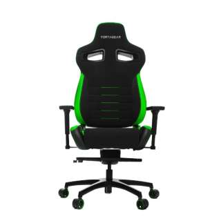 VG-PL4500_GR ゲーミングチェア Racing Series PL4500 Gaming Chair ブラック&グリーン