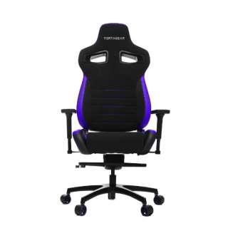 VG-PL4500_BP ゲーミングチェア Racing Series PL4500 Gaming Chair ブラック&パープル