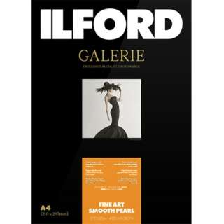 イルフォードギャラリーファインアート スムースパール 270g/m2(A4 25) ILFORD GALERIE FineArt Smooth Pearl 432616