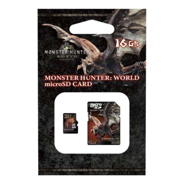 モンスターハンターワールド microSDHCカード 16GB HMFW-216 【Switch】