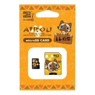 アイルー microSDHCカード 16GB HMFW-217 【Switch】