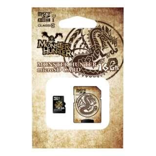 モンスターハンター紋章 microSDHCカード 16GB HMFW-218 【Switch】