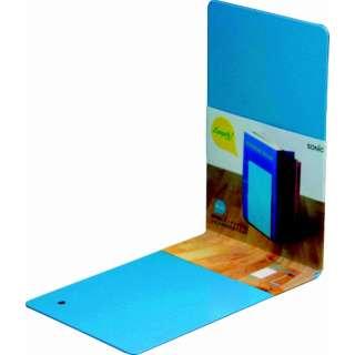 リビガク 本立て 教科書サイズ ブルー LV-3220-B