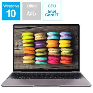 MateBook 13 ノートパソコン スペースグレー [13.0型 /intel Core i7 /SSD:512GB /メモリ:8GB /2019年3月モデル]