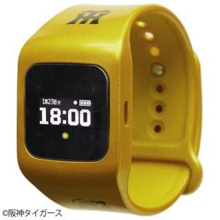 ウェアラブル端末(ウォッチタイプ)タイガース黄モデル 「funband(ファンバンド)」 SA-BY020 黄 SA-BY020