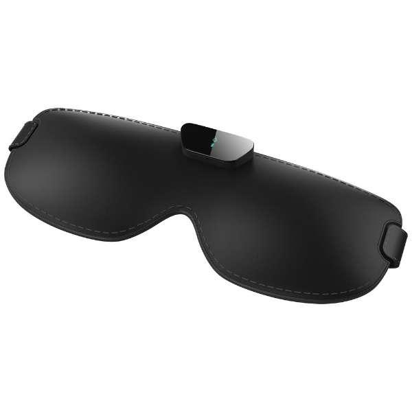 いびきケアデバイス 「Snore Circle(スノアサークル)スマートアイマスク」 SC-04w ブラック