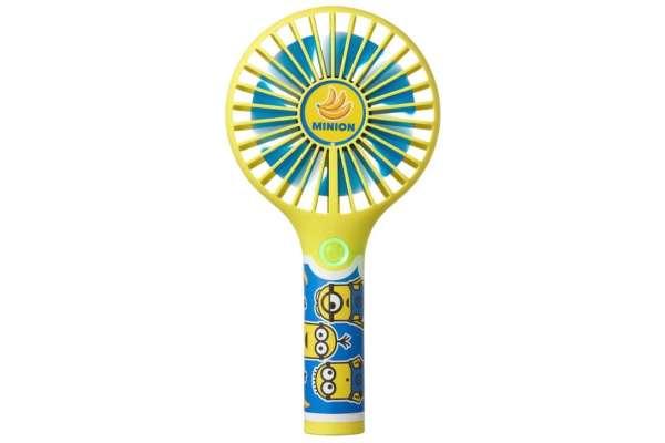 携帯扇風機のおすすめ タカラトミーアーツ ハンディキャラファン ミニオン(充電式)