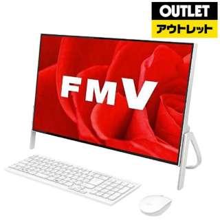 【アウトレット品】 FMVF52B3W2 デスクトップパソコン FMV ESPRIMO ホワイト [23.8型 /HDD:1TB /メモリ:4GB /2018年1月] 【生産完了品】