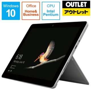 【アウトレット品】 SurfaceGo LTE Advanced [10.0型 /SSD 128GB /メモリ 8GB /Intel Pentium /シルバー/2019年] KAZ-00032 Windowsタブレット サーフェスゴー 【外装不良品】