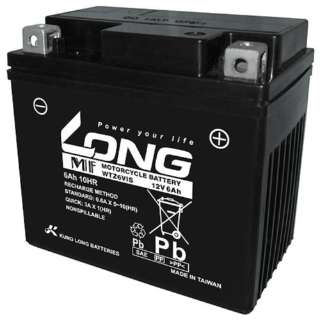 WTZ6VIS バイク用バッテリー 液入り充電済み
